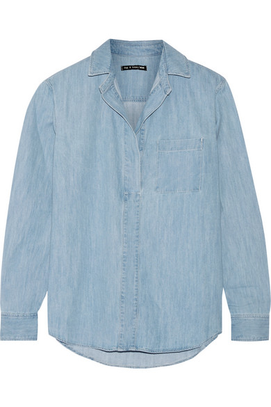 Rag & Bone / Leeds denim shirt