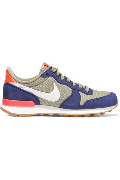 Nike / Internationalist suede & mesh sneakers