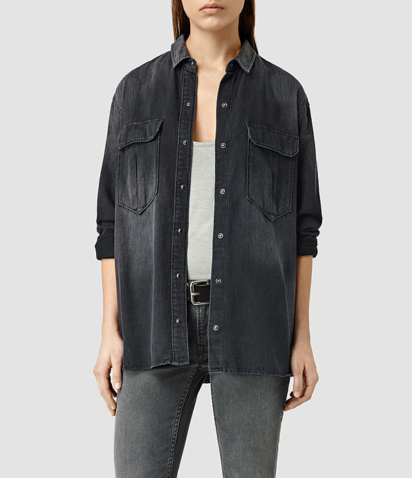 AllSaints: Octavia Military Shirt was $178, now $124