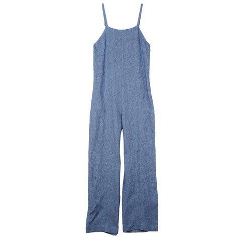 Nomia: Strap Linen Jumpsuit was $455, now $318