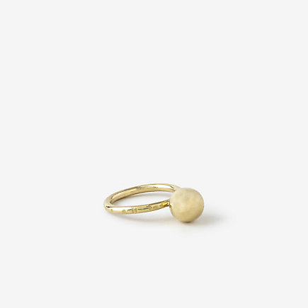 Another Feather: Large Pearl Ring was $96, now $76