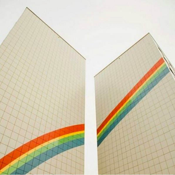 rainbows + architecture 🌈