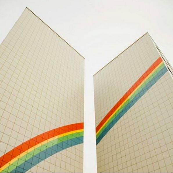 rainbows + architecture 🌈