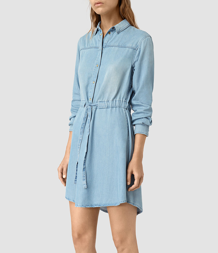 All Saints 'Sanko Denim Dress'