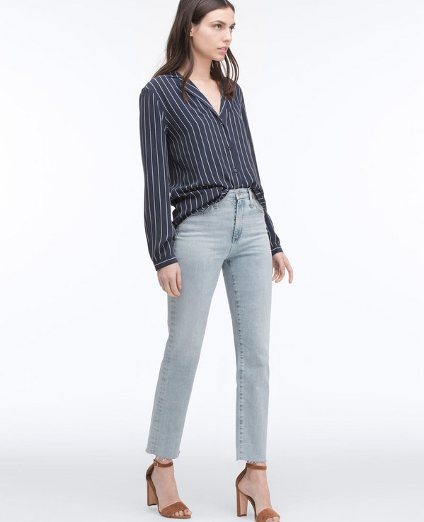The Phoebe slim-straight jean by AG Jeans
