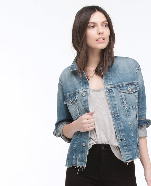 Mya Denim Jacket by AG Jeans