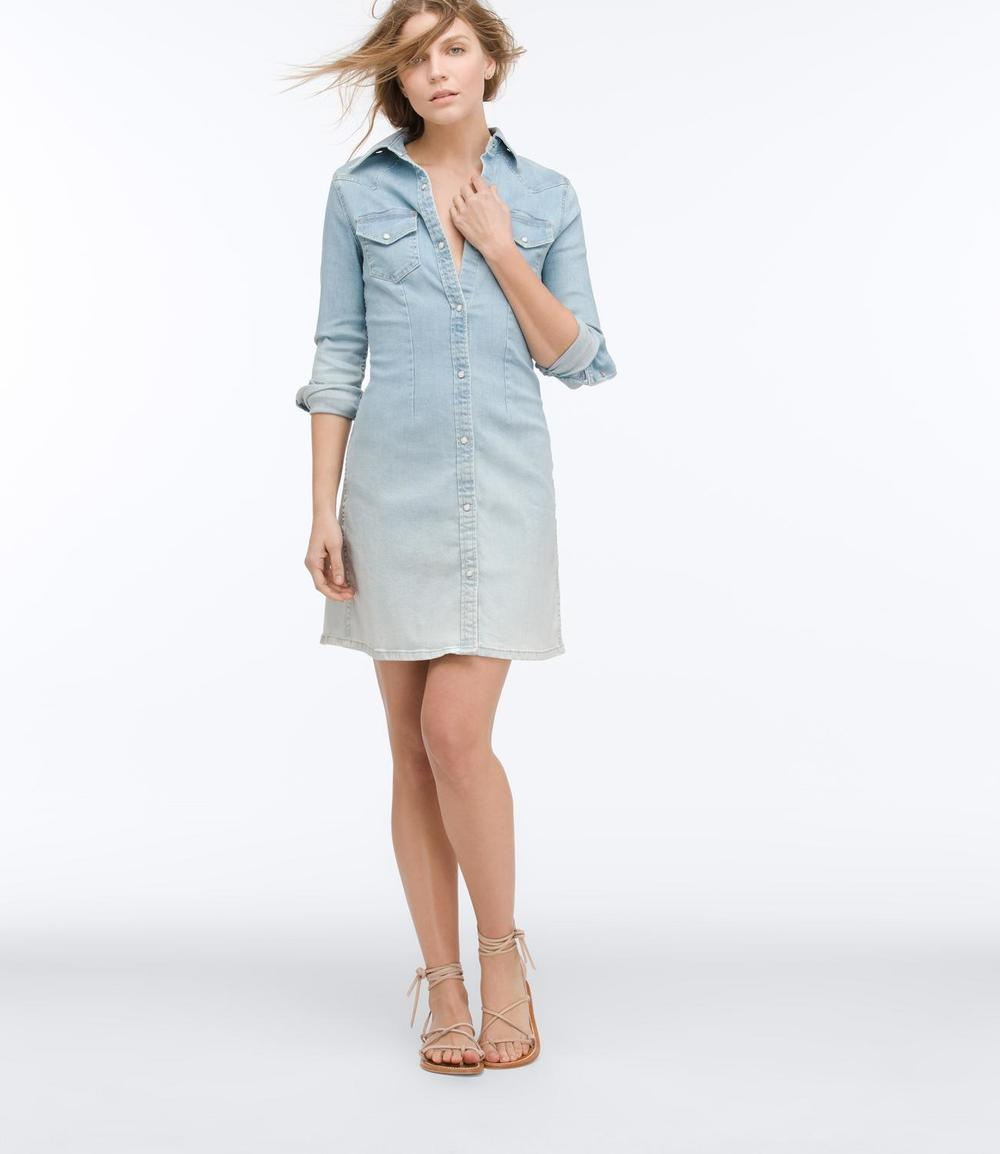 The Jacqueline Wester Button Down Dress by AG Jeans