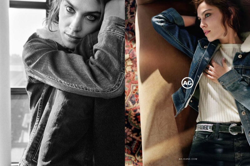 Alexa Chung for AG Jeans Fall 2016 🍒 DNAMAG