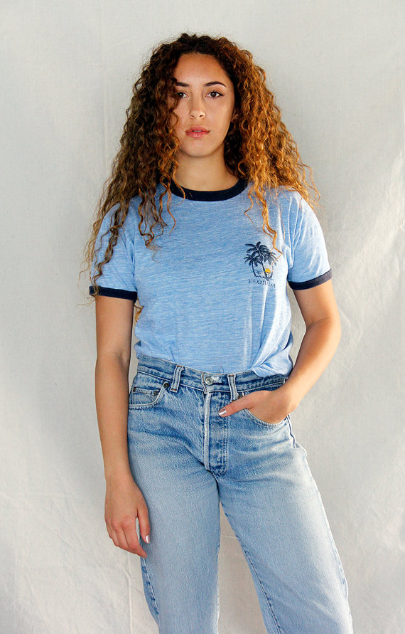 "Vintage 80's ""Florida"" Vacation Tee $48"