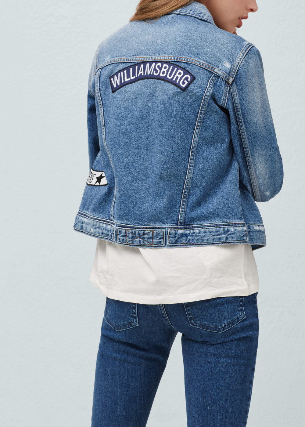 Mango 'Williamsburg' Denim Jacket on sale 🍒 DNAMAG.co