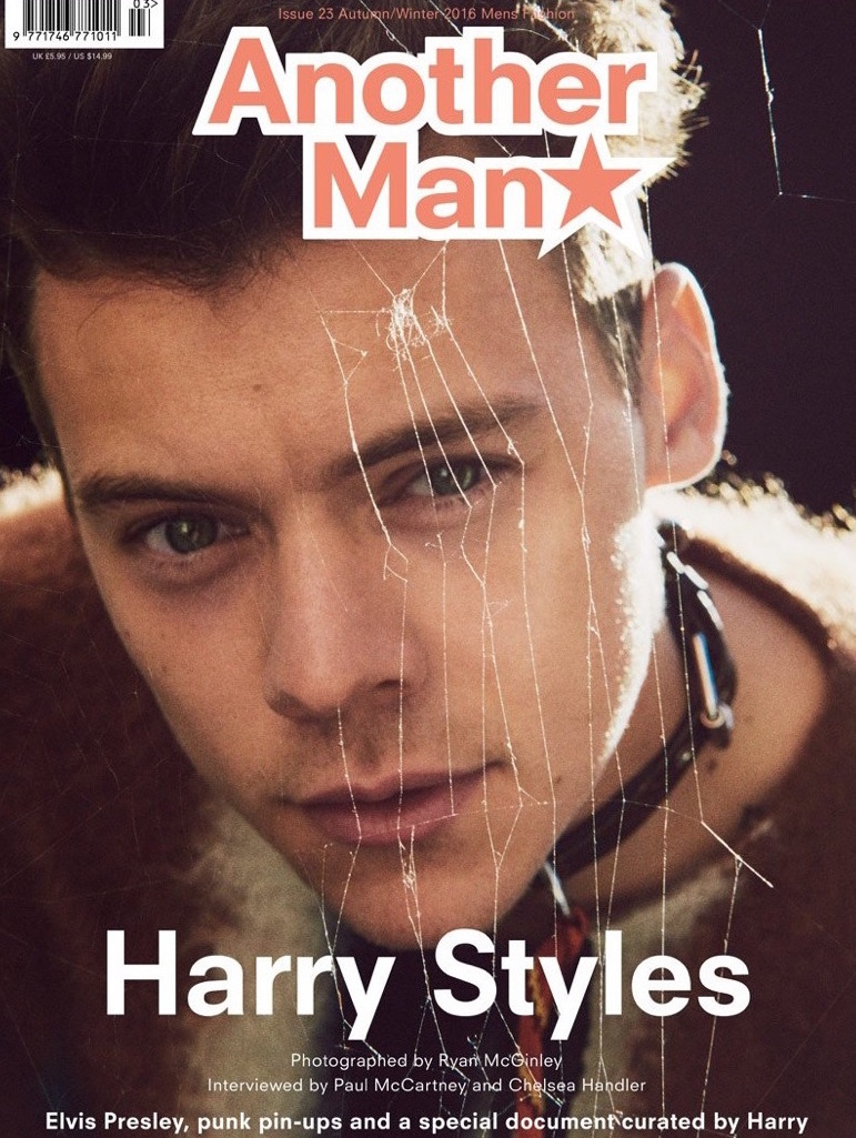 Harry Styles for AnOther Man via DNAMAG