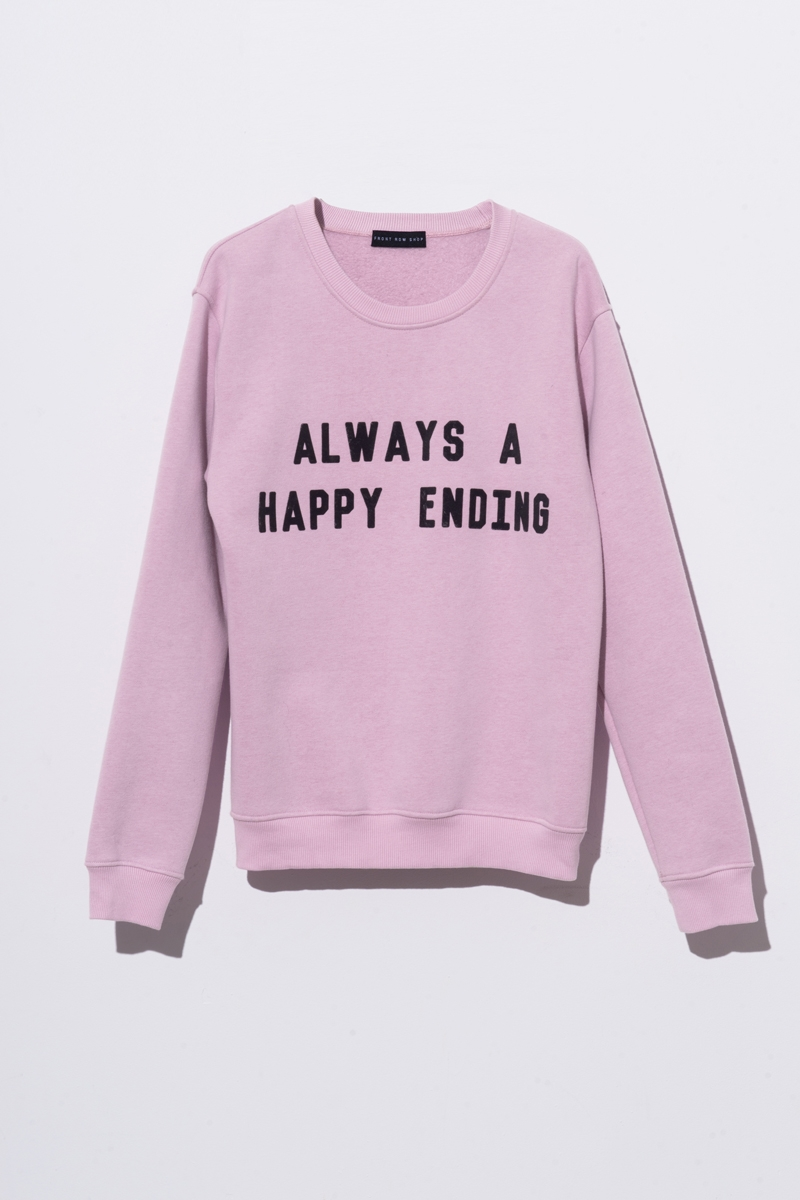 Pink Graphic Sweatshirt via DNAMAG