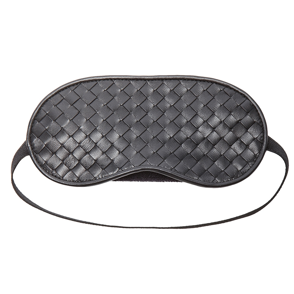 WOVEN EYE MASK by BOTTEGA VENETA