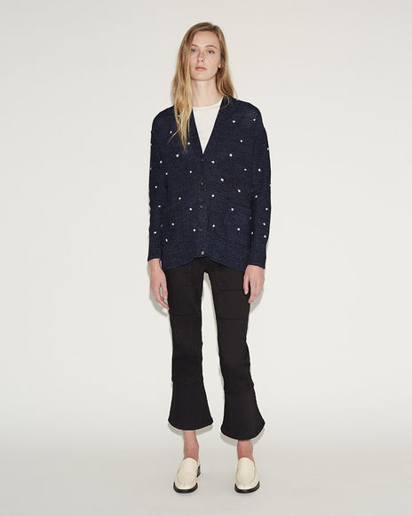 Dot Inni Cardigan by Rachel Comey