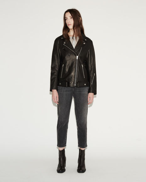 Oversized Moto Jacket / T by Alexander Wang