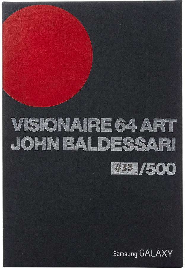 VISIONAIRE 64 ART JOHN BALDESSARI RED EDITION by D.A.P.
