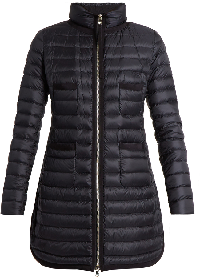 Moncler Bogue Quilted Down Coat