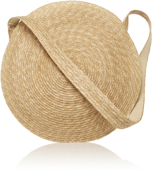 Samuji Circle Straw Bag via Moda Operandi