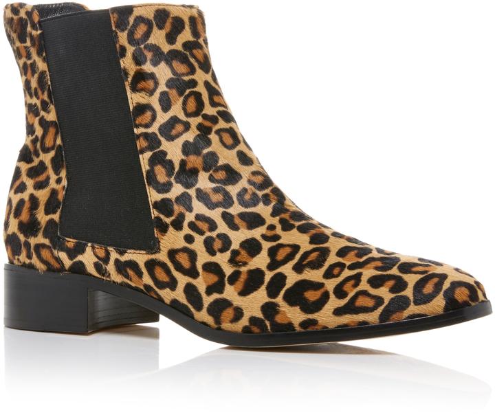 Aerin Leopard Chelsea Boot via Moda Operandi