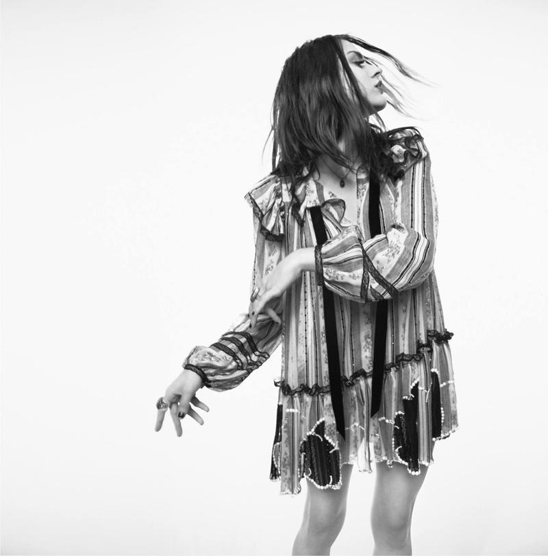 Frances Bean Cobain for Marc Jacobs SS17 via DNAMAG