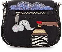 Marc Jacobs Nomad Applique Saddle Bag artwork by Julie Verhoeven
