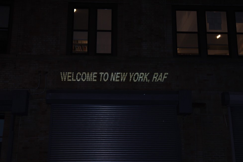 WELCOME TO NEW YORK RAF #streetstyle happens via DNAMAG