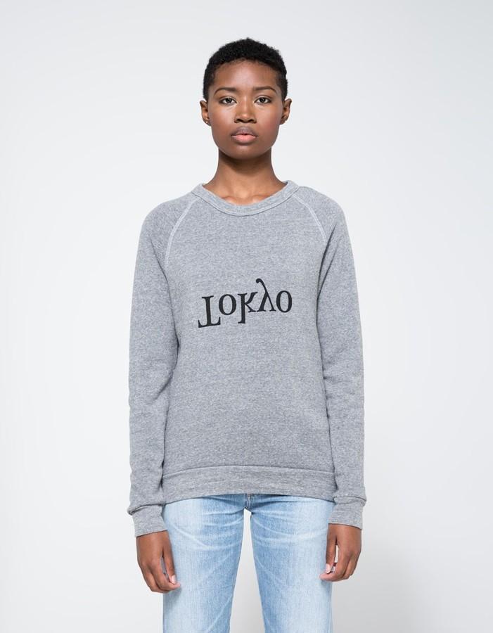 Assembly New York Tokyo city sweatshirt
