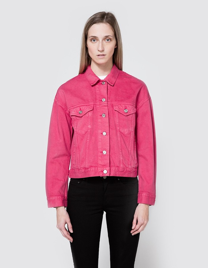 Acne Studios Lab Jacket in pink