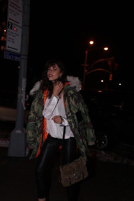 Streetstyle happens NYFW FW17 via DNAMAG