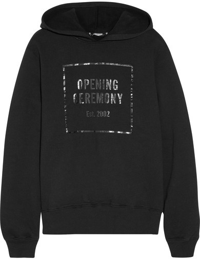 Opening Ceremony 'Established black hoodie'