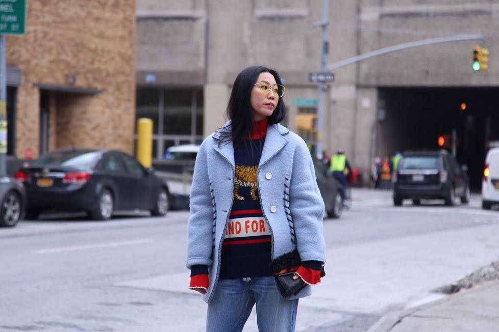 NYFW FW17 street style happens via DNAMAG