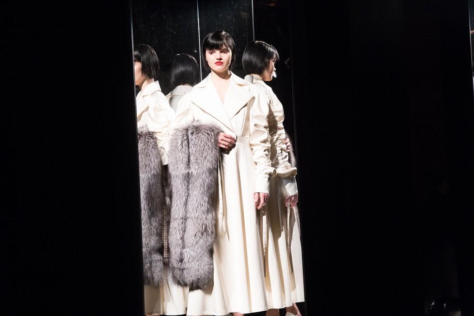 Claudia Li Fall 2017 via DNAMAG