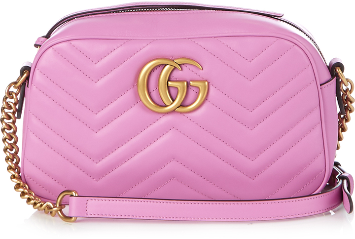 Gucci GG Marmont Quilted Leather Bag