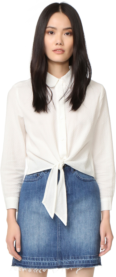 Solid and Striped 'Taylor' Button-Up Shirt