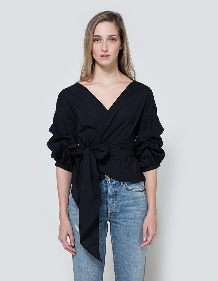 Farrow - Jayne Wrap Top