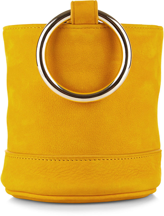 Simon Miller - Maize Bonsai Suede Bucket Bag