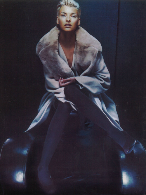 Linda Evangelista by Nick Knight, 1991