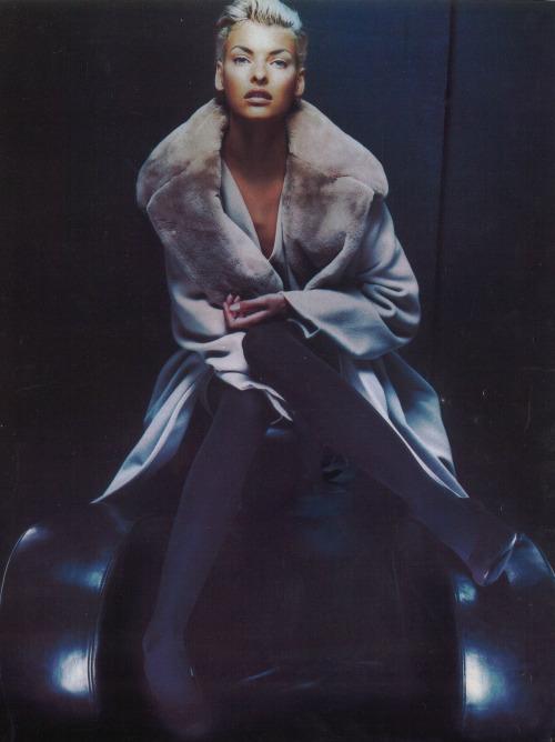 Linda Evangelista by Nick Knight, 1991