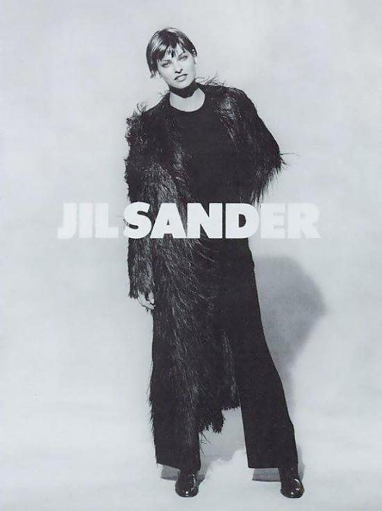 Linda Evangelista by Peter Lindbergh, 1993