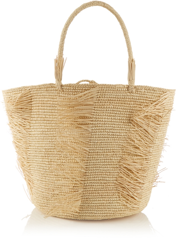 Straw bags for schlepping via DNAMAG