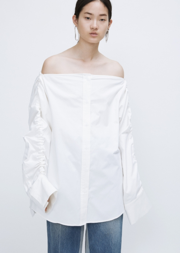 What We Want: Crisp White Shirt via DNAMAG