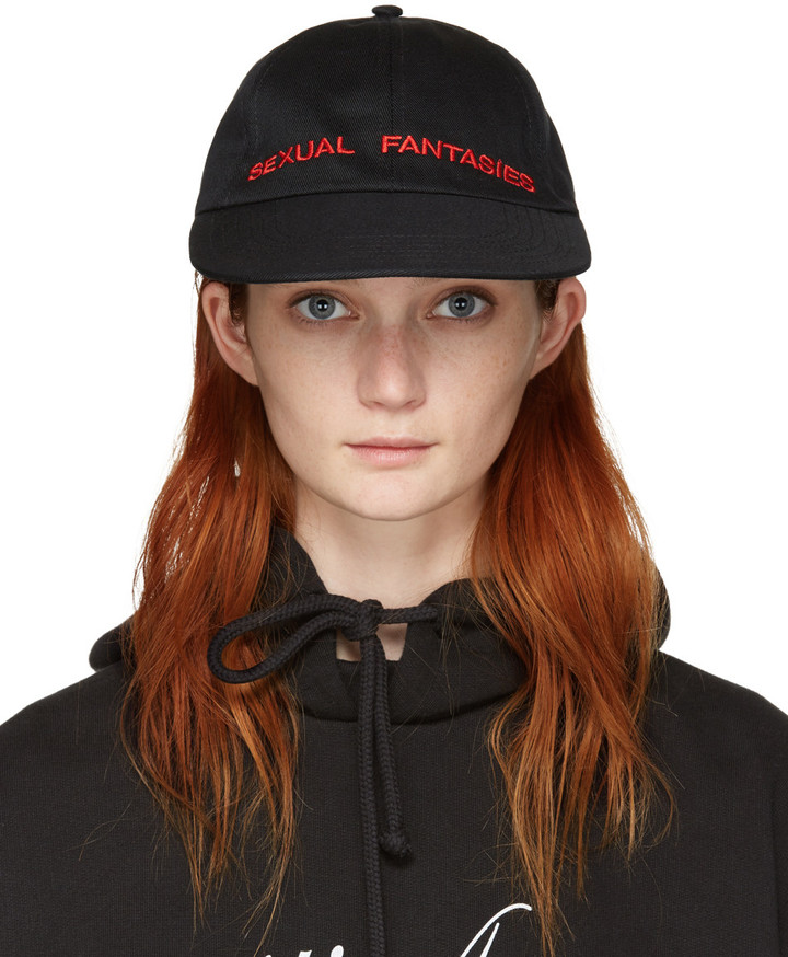 Vetements 'sexual fantasies' cap
