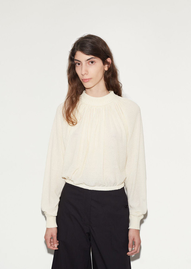 Lemaire High Collar Sweater