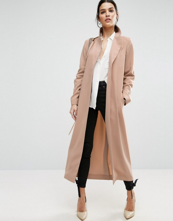 Asos - crepe duster trench