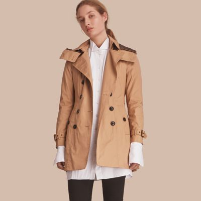 Burberry Hooded Trench Coat via DNAMAG