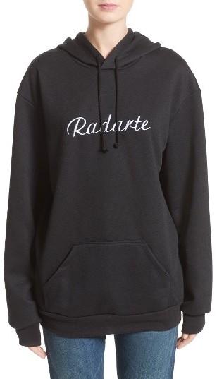 La Radarte Hoodie Sweatshirt by Rodarte