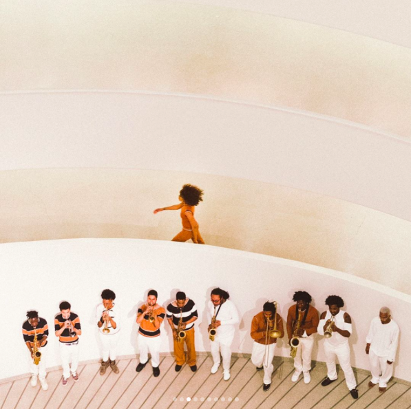 Solange 'An Ode To' at The Guggenheim via DNAMAG