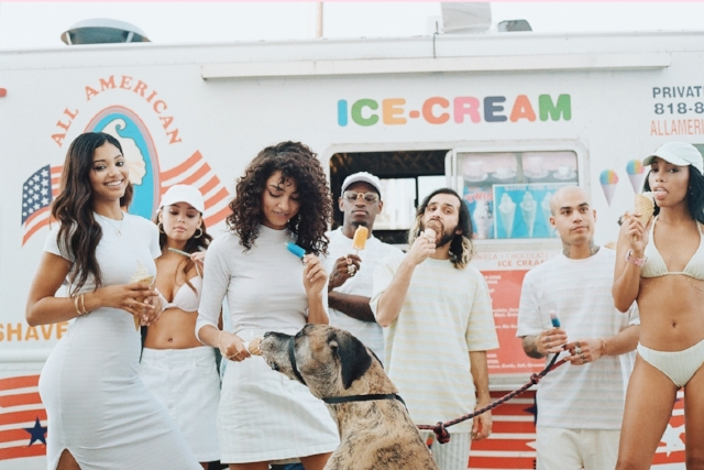 Ice Cream and Cotton Candy Club - A$AP Rocky x Guess