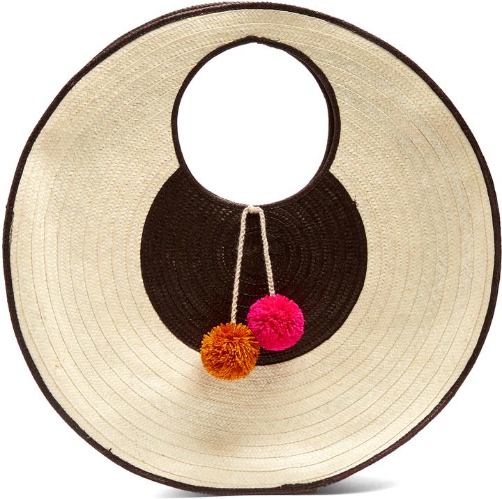 Sophie Anderson - Adorada Circle Straw Bag