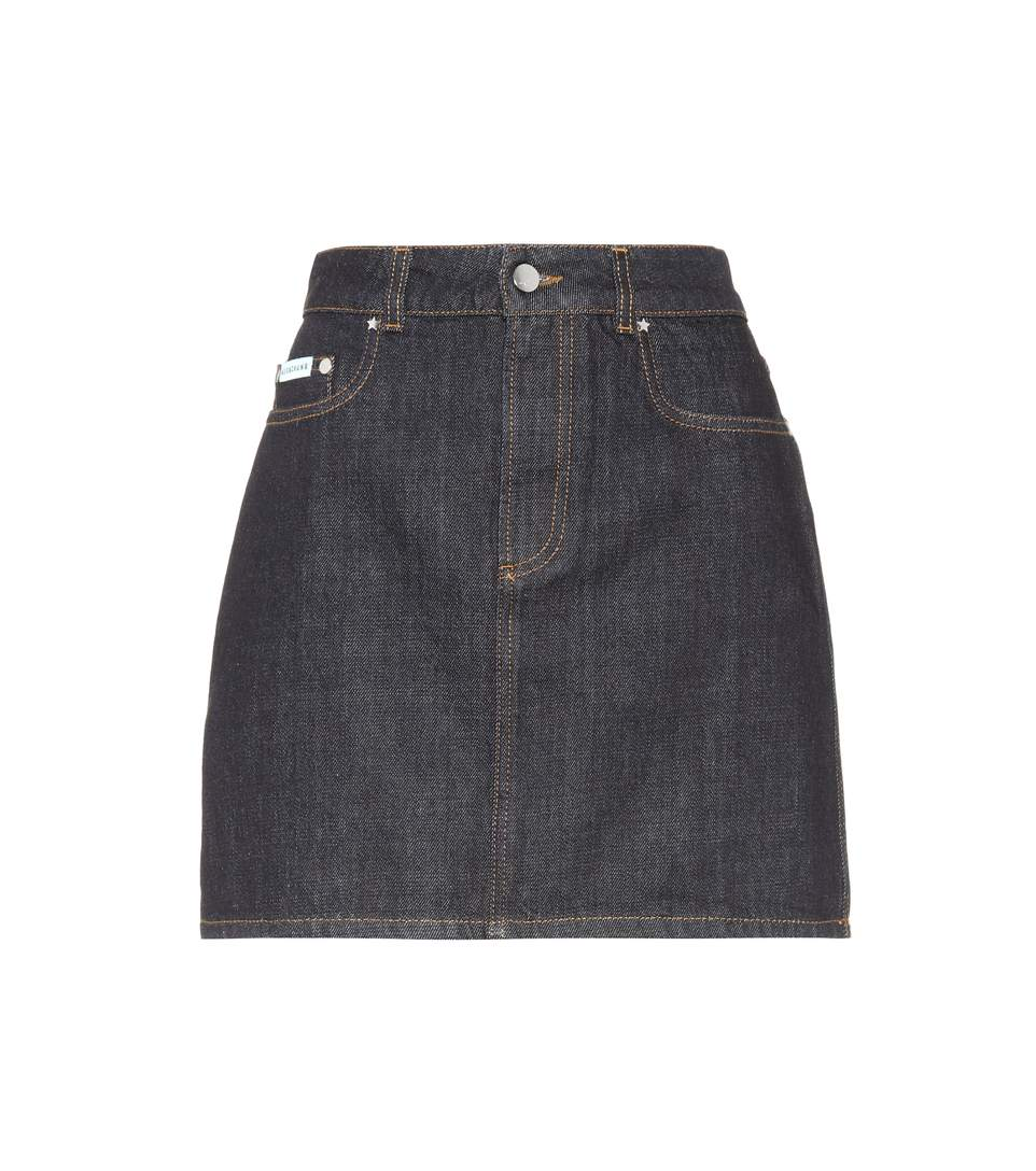 - DENIM MINI SKIRT